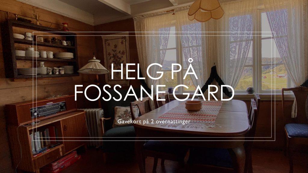 gavekort Fossane tilbud