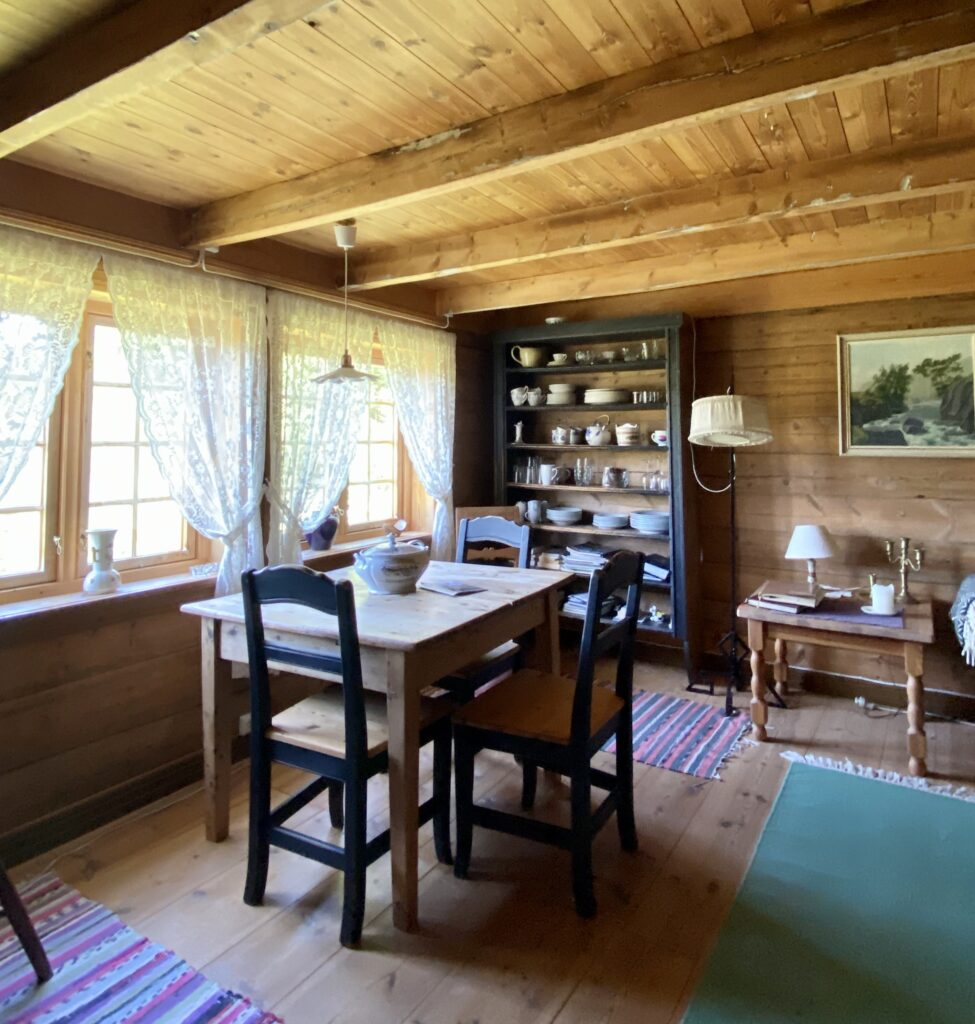 rental cabin, interior
